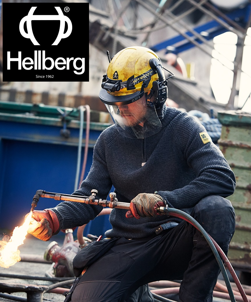 Hellberg Safety PPE and Snickers Workwear– Comfort and Safety Combined.