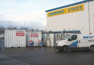 Andrews Chillers and Boilers Set Up Hire Centre in Scotland