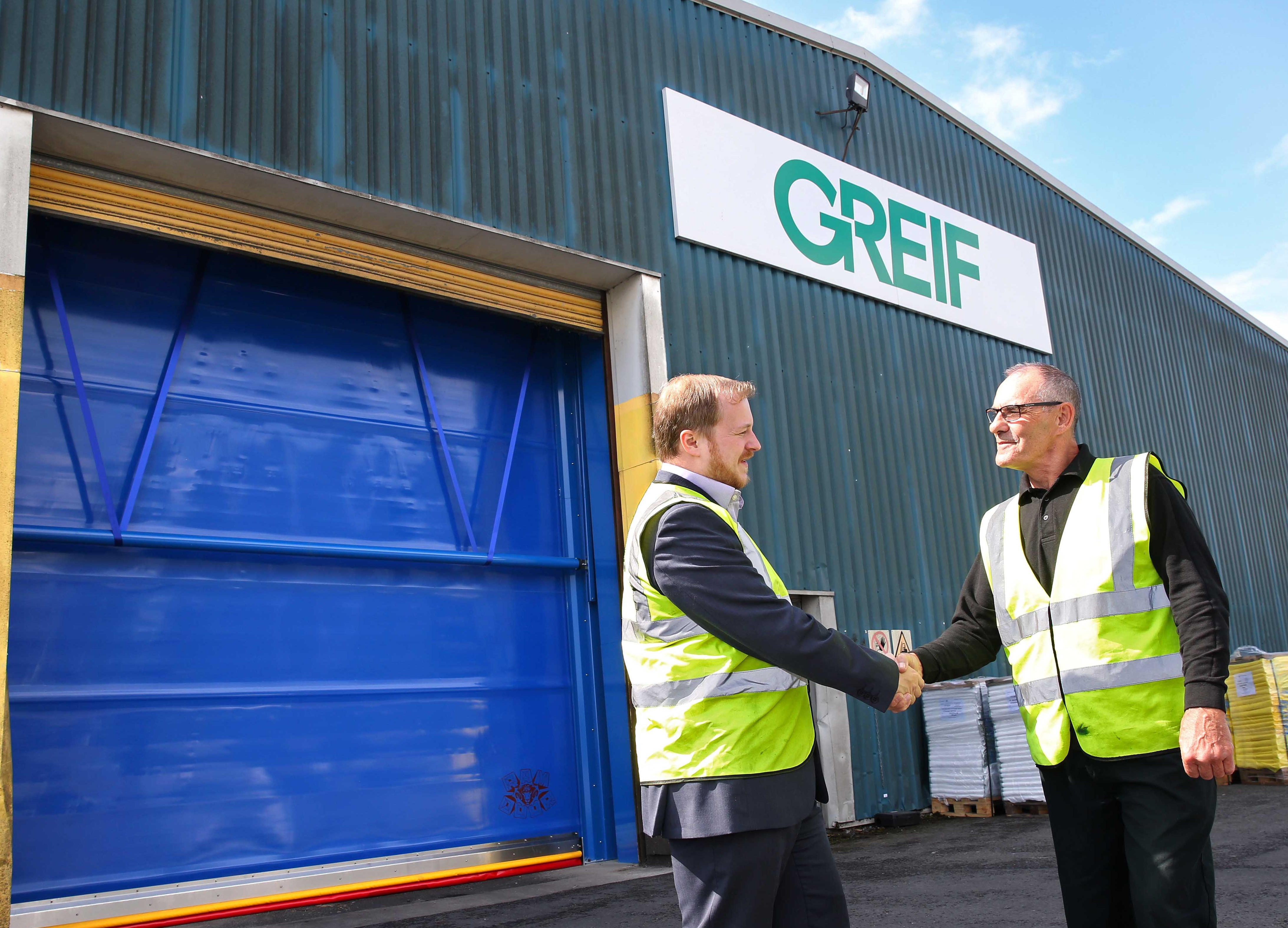 Union Industries delivers for global packaging leader Greif Flexibles