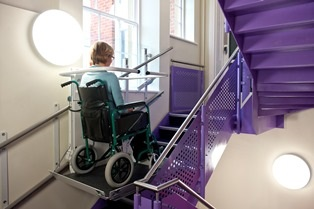NEW Stannah slimline Stairiser SR – biggest welcome yet for wheelchair users!