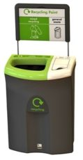 Bin Design Encourages Recycling