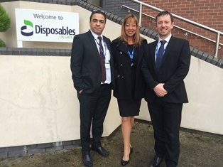 New appointments at Disposables UK Group as it gears up for successful 2015