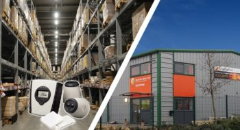 Beam Smoke Detectors the right choice for Peterborough Warehouse