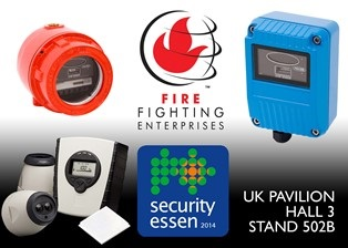 The Latest in Flame Detection and Wide Area Smoke Detection at Security Essen