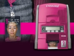 The Jamie Oliver Group Choose to Support Breast Cancer Research with the Datacard SD260 ID Card Printer