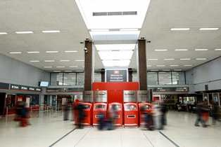 AVA™ LED products are chosen by Virgin to ensure greener railway stations
