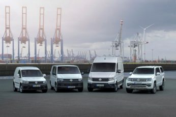 VOLKSWAGEN COMMERCIAL VEHICLES DELIVERIES ARE SOLID