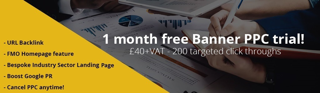 1 month free Banner PPC triall!   £40+VAT -200 targeted click throughs