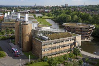 Schneider Electric Power Nottingham University with Building Management System Upgrade
