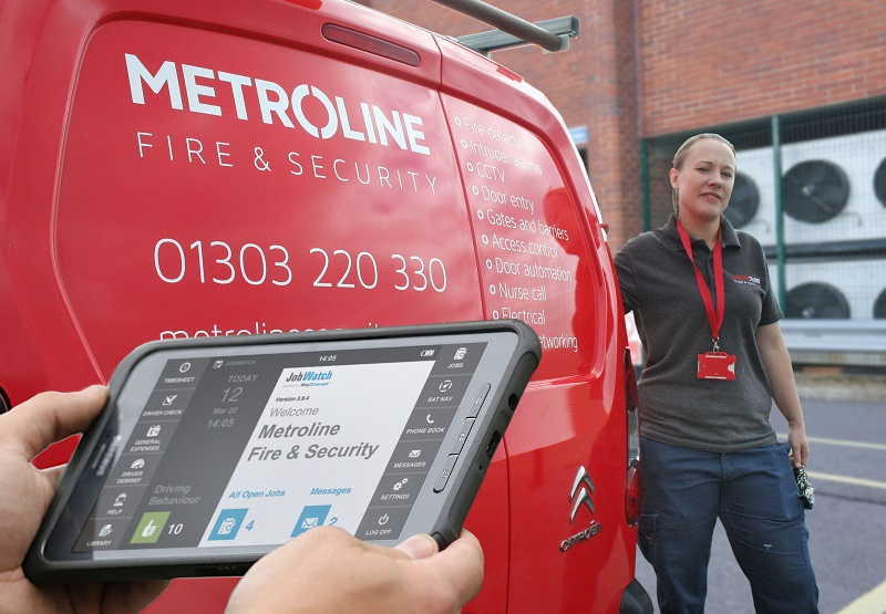 Metroline Transforms Fire and Security Services with Mobile Working Tech