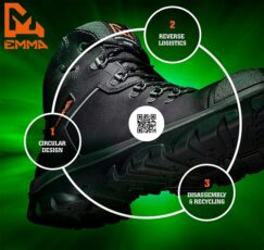 EMMA Safety Footwear Just Got Safer For You & The Environment