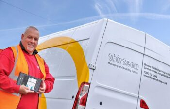 Thirteen housing boosts FM services with mobile tech