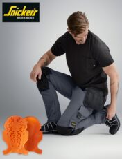 Snickers Workwear – Superior, Ergonomic Knee Protection With D30®.