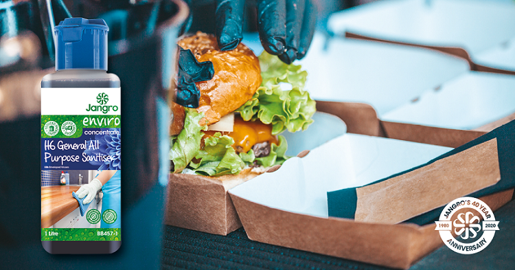 Jangro offers tailored solutions to support catering businesses