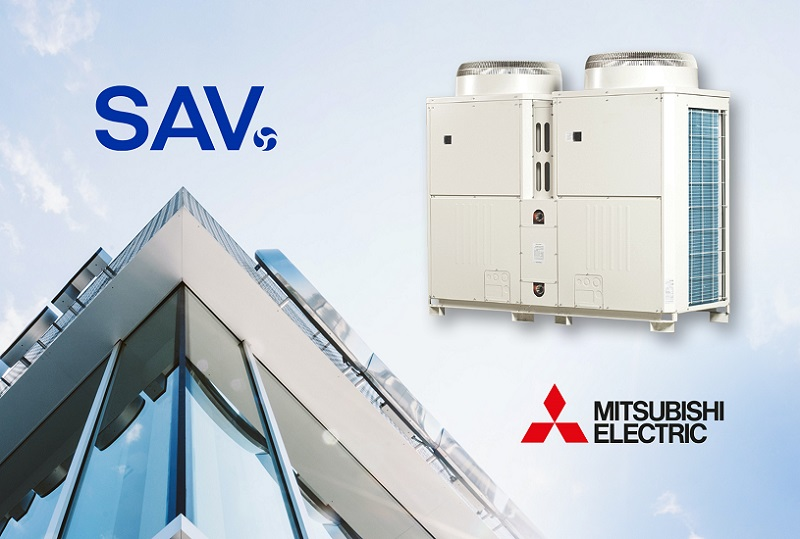 SAV Systems and Mitsubishi Electric join forces in the heat networks market