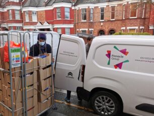 Pinnacle offers financial support and assistance to Lambeth food banks