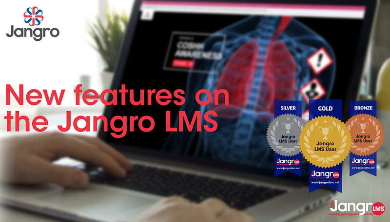 NEW FEATURES FOR JANGRO'S E-LEARNING PLATFORM