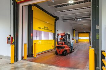 Union Industries supplies and installs 40 rapid-roller doors at Princes food production site