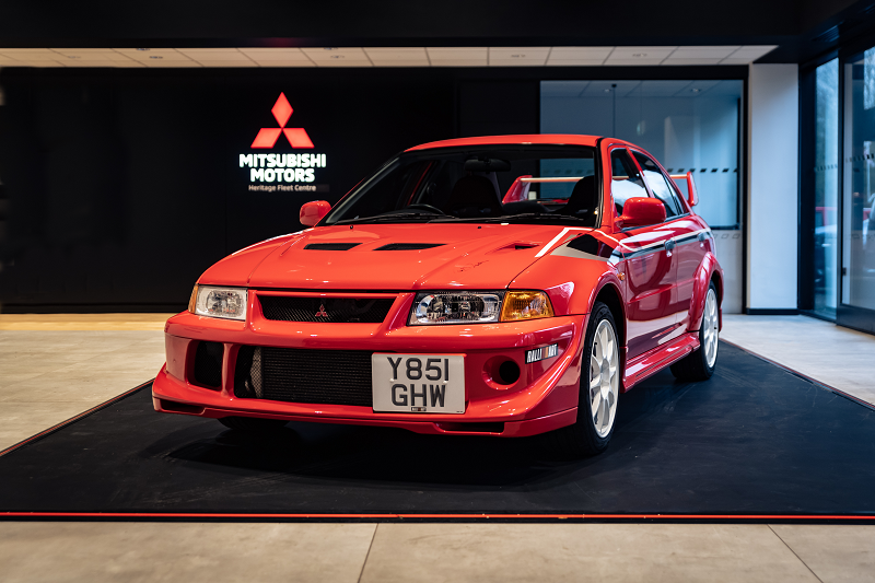 Mitsubishi UK heritage auction concludes with world record hammer price of £100,100 for its Lancer Evolution VI Tommi Mäkinen