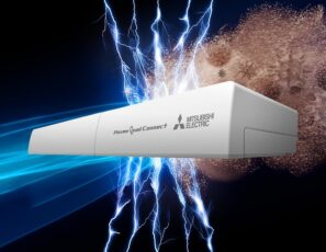 Mitsubishi Electric bolt-on air purifier neutralises indoor pollutants