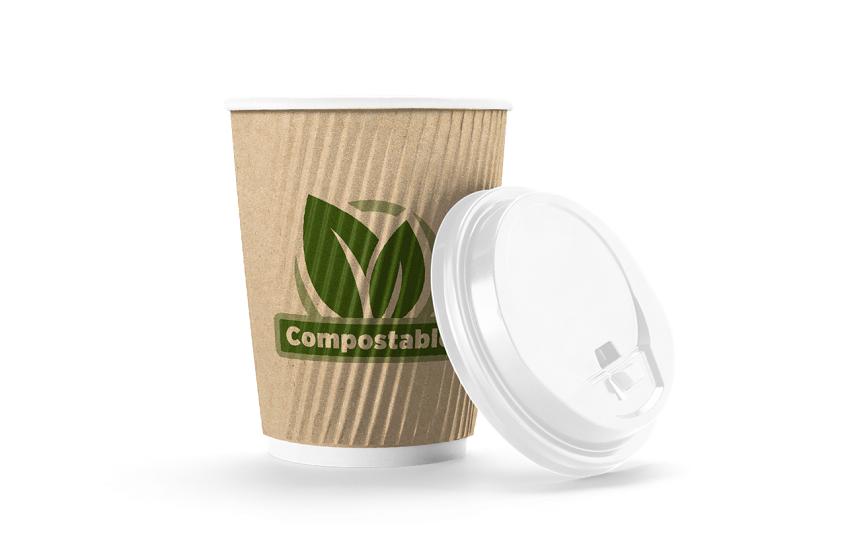 HERALD INTRODUCES COMPOSTABLE AQUEOUS CUPS