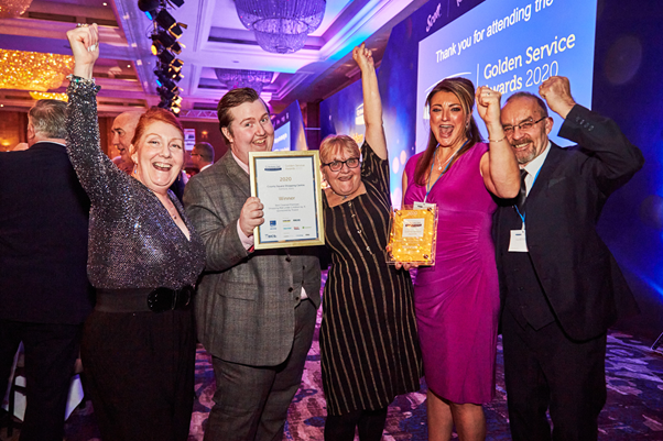 Get the best chance to shine – sign up to the How to Enter Webinar Top tips webinar for winning entries to the 2022 Golden Service Awards