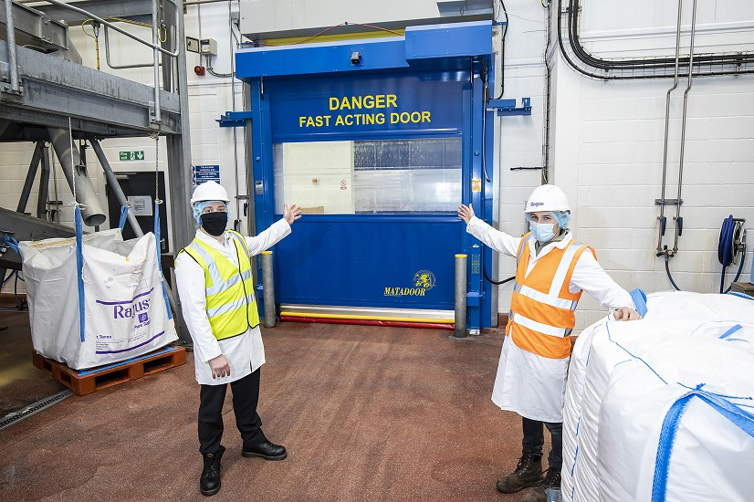 Union's high quality industrial door installation leads to repeat business